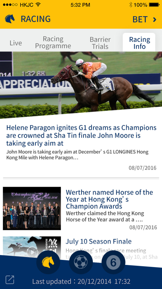 webcast hkjc horse racing betting odds